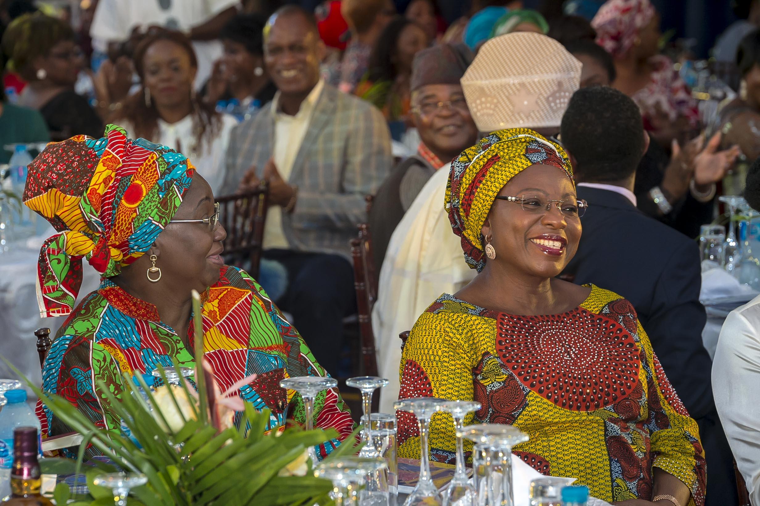 Dame Abimbola Fashola Former First Lady Lagos State & Princess Sarah Sosan- Former Deputy Governor Lagos State