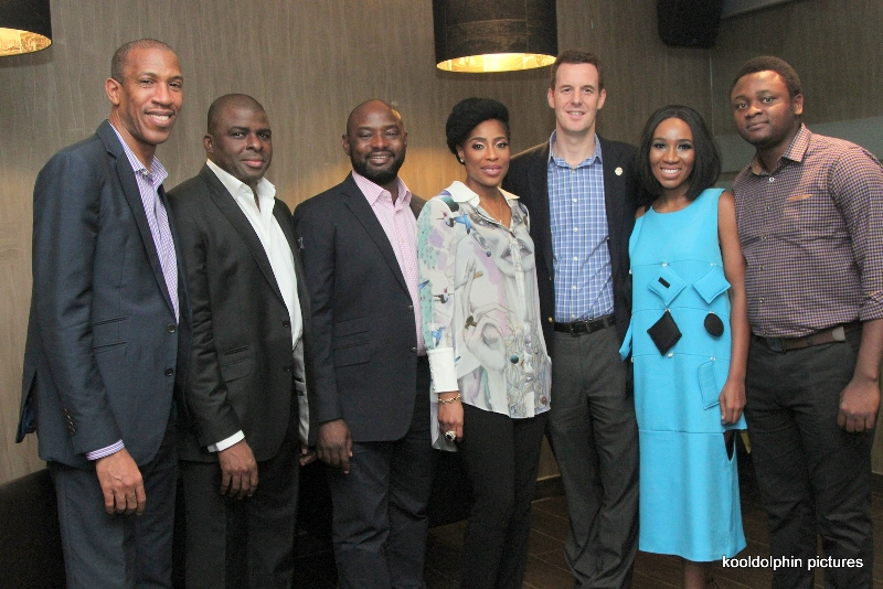 Michael Williams, Uzo Onwuchekwa, Otome Oyo, Mo Abudu, Rob Hobart and Eunice Omole