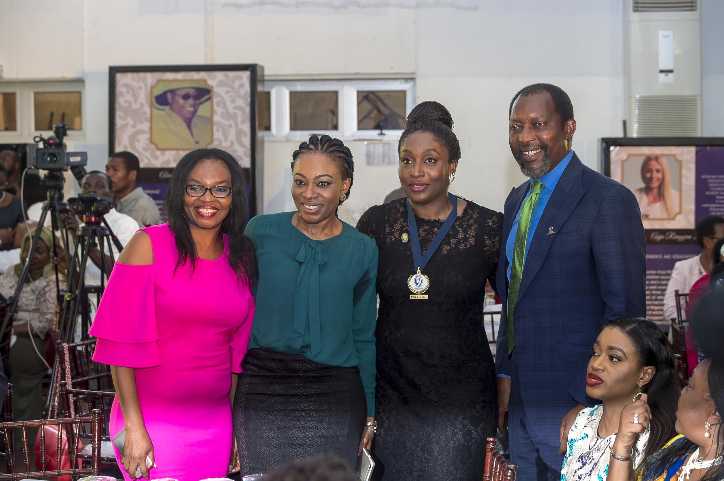 Mrs Jennifer Eneh, Dr Dorothy Nnamani, Mrs Ego Boyo & Dr Jeff Nnamani