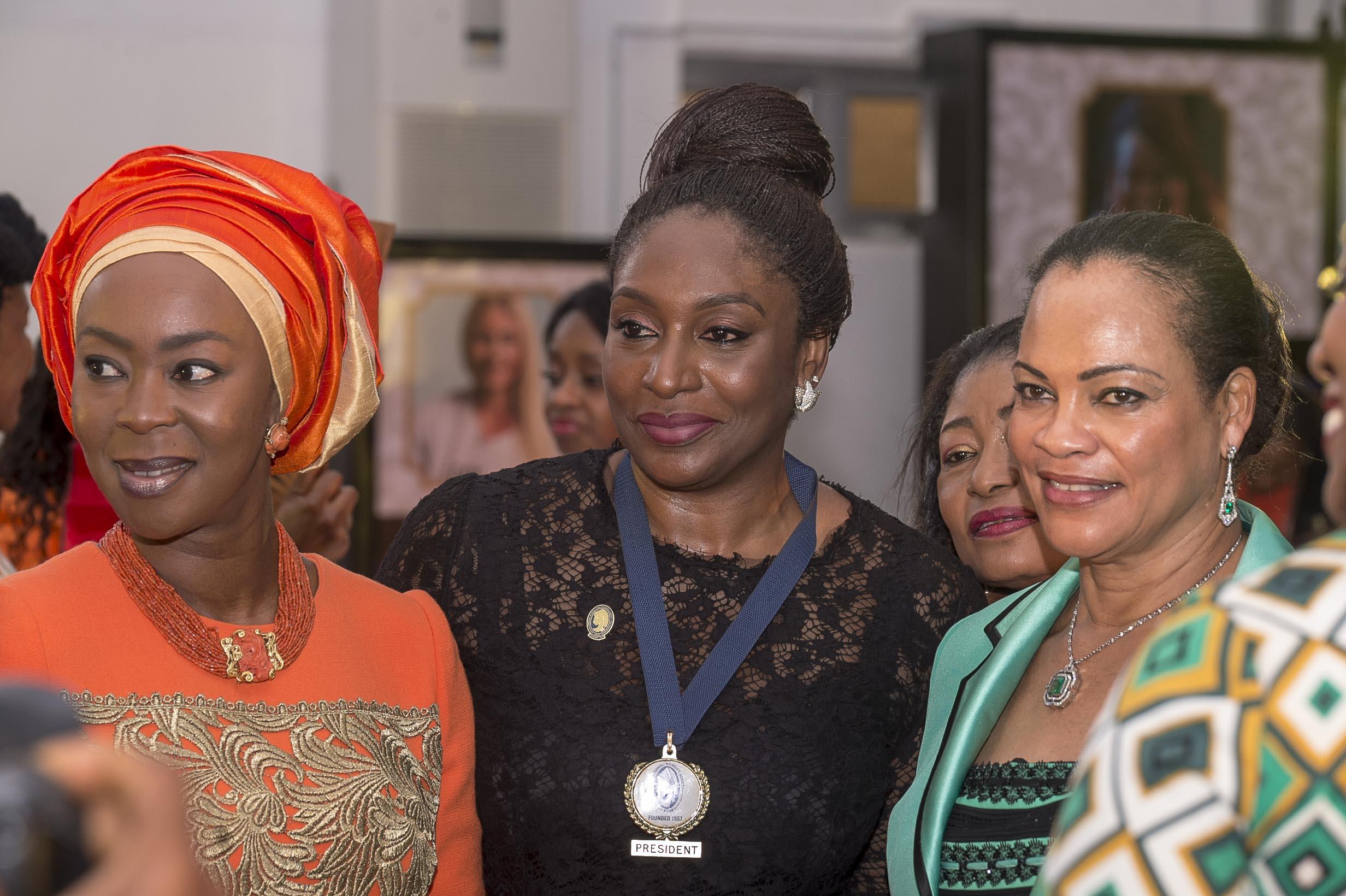 Mrs Toyin Saraki, Mrs Ego Boyo, Senator Daisy Danjuma