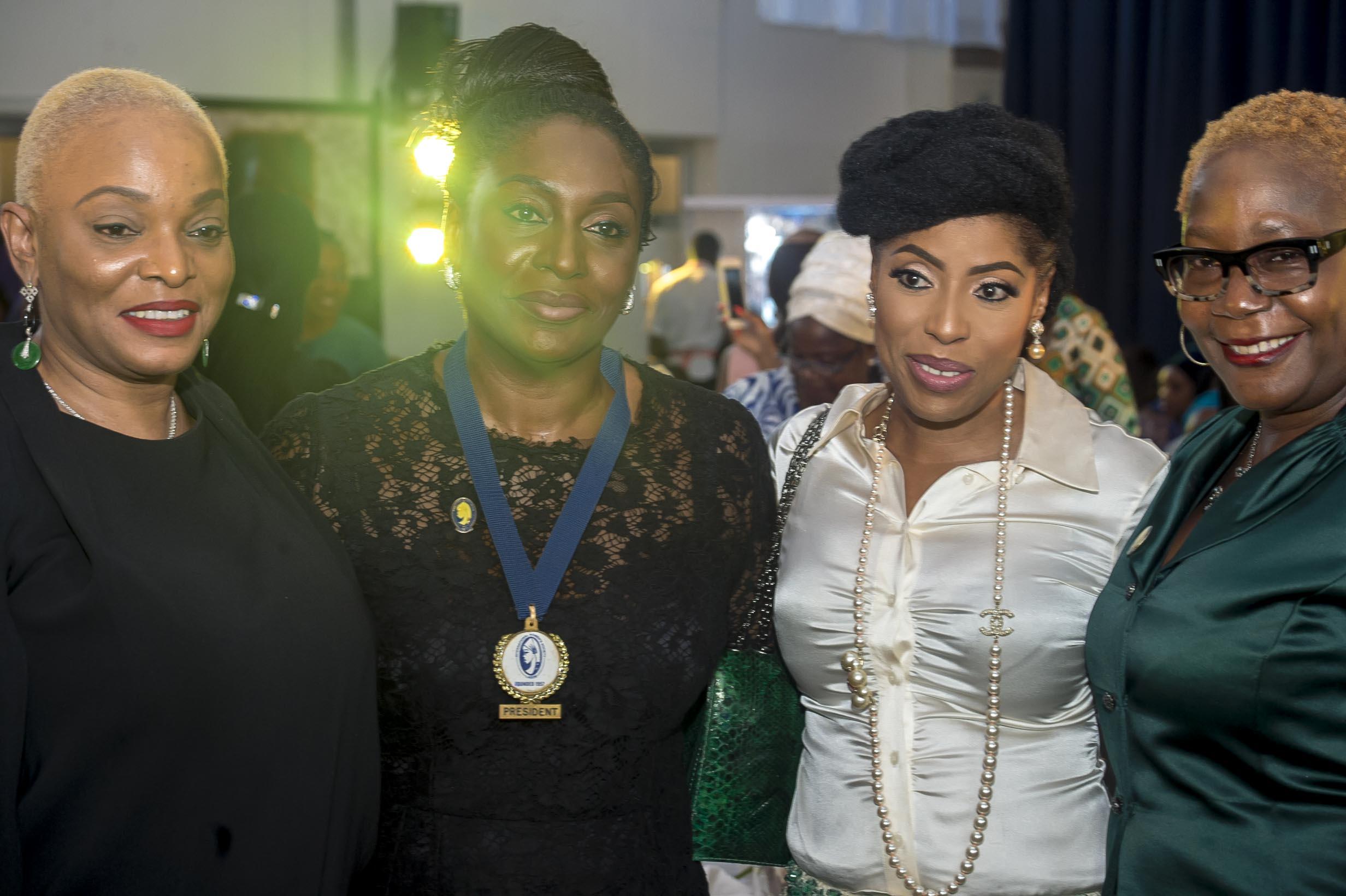 Ruth Osime, Ego Boyo, Mo Abudu & Pat Faniran