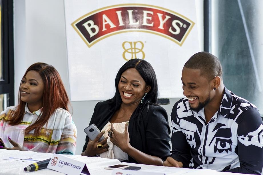 Baileys BakeFest Celebrity Bakers- Funke Akindele- Bello, Waje & Alex Ekubo