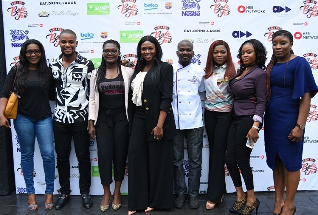 Baileys BakeFest Contestants & Baileys Brand Manager- Ufuoma Udjoh