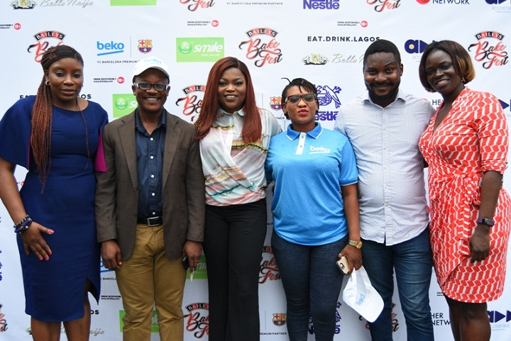 Baileys Brand Manager- Ufuoma Udjoh, Partners; Beko, Smile Nigeria & Portfolio Director Spirits, Diageo- Adenike Adebola