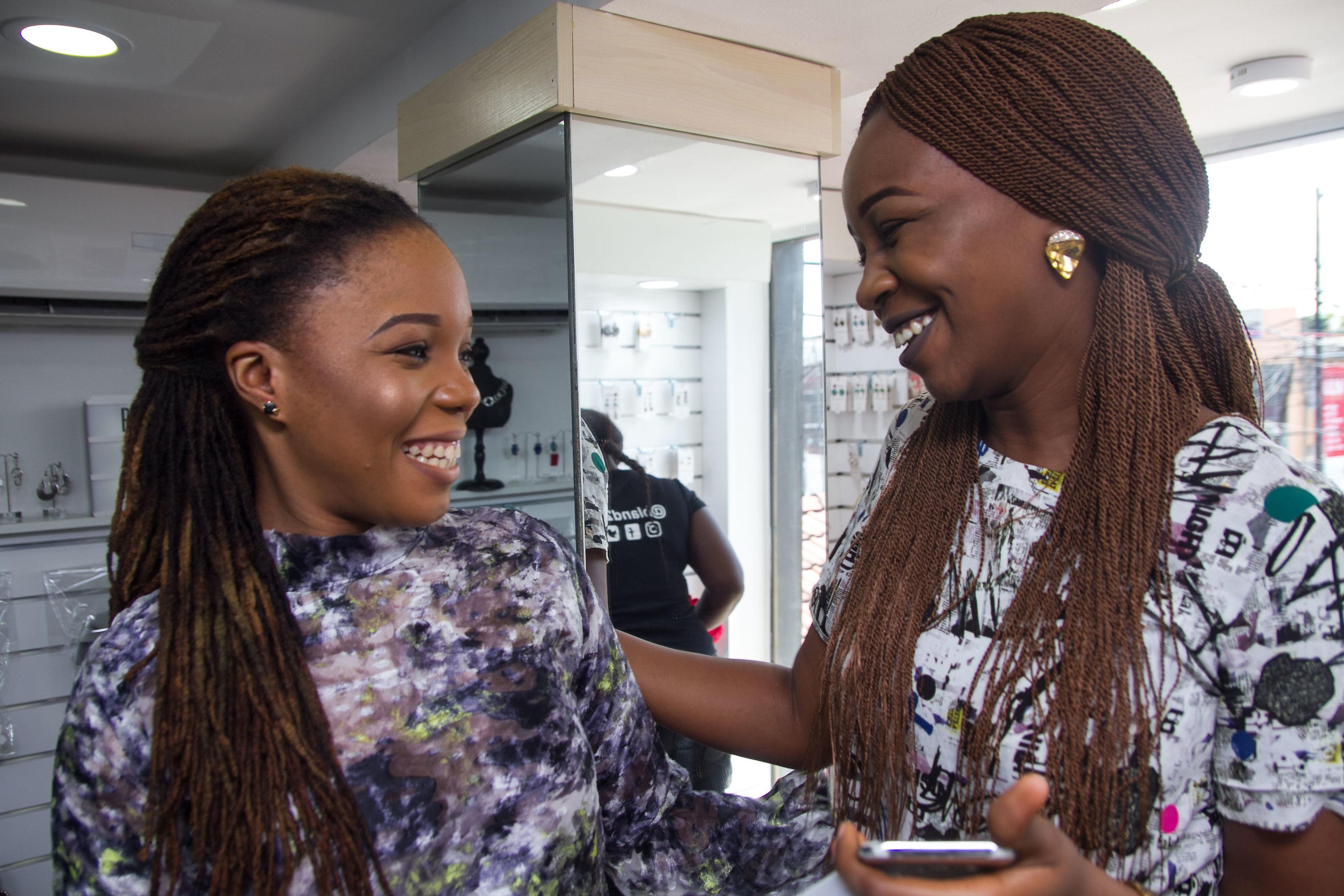 Queen Martins & Annette Odimegwu