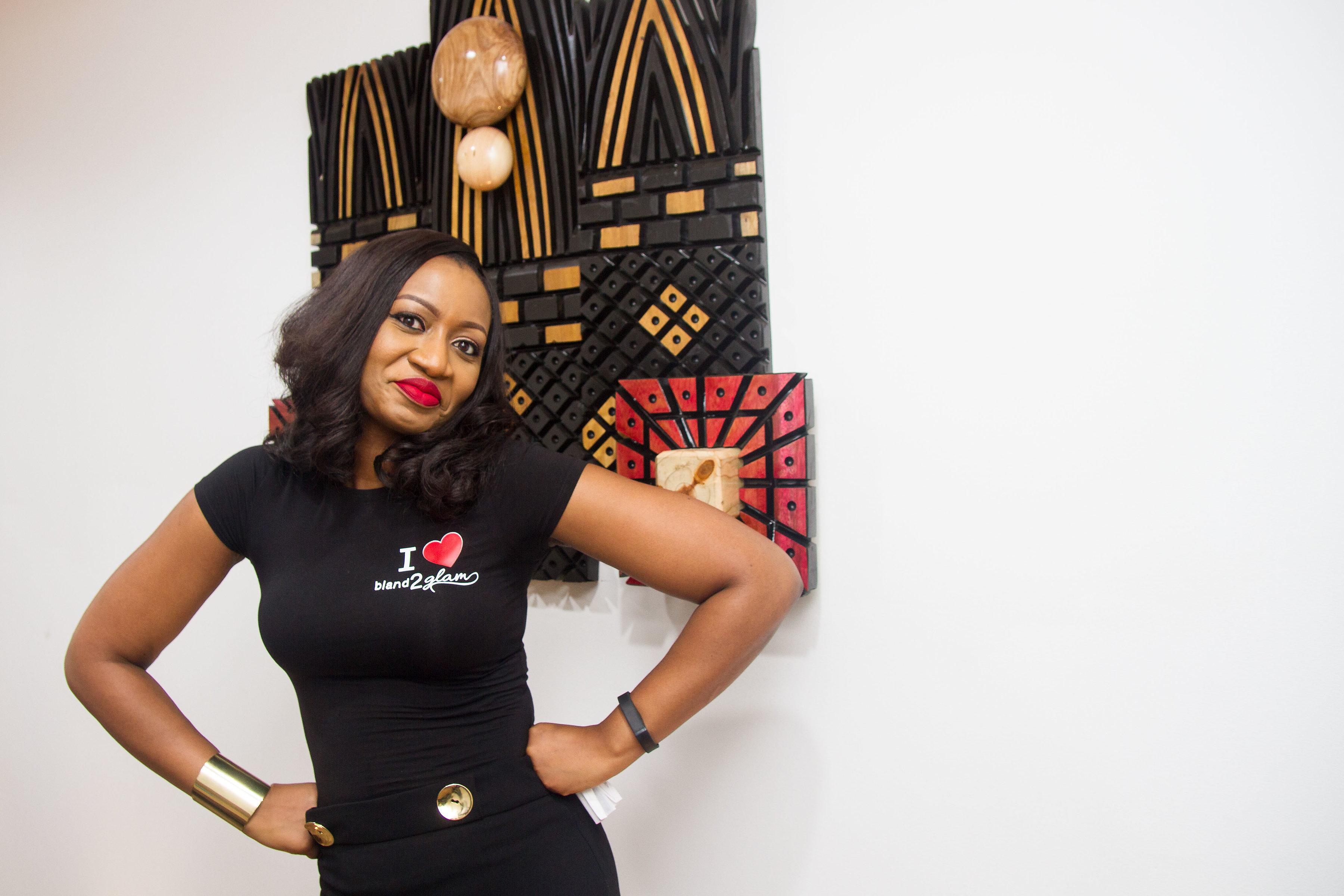 Seyi banigbe Founder, CEO of Bland2Glam