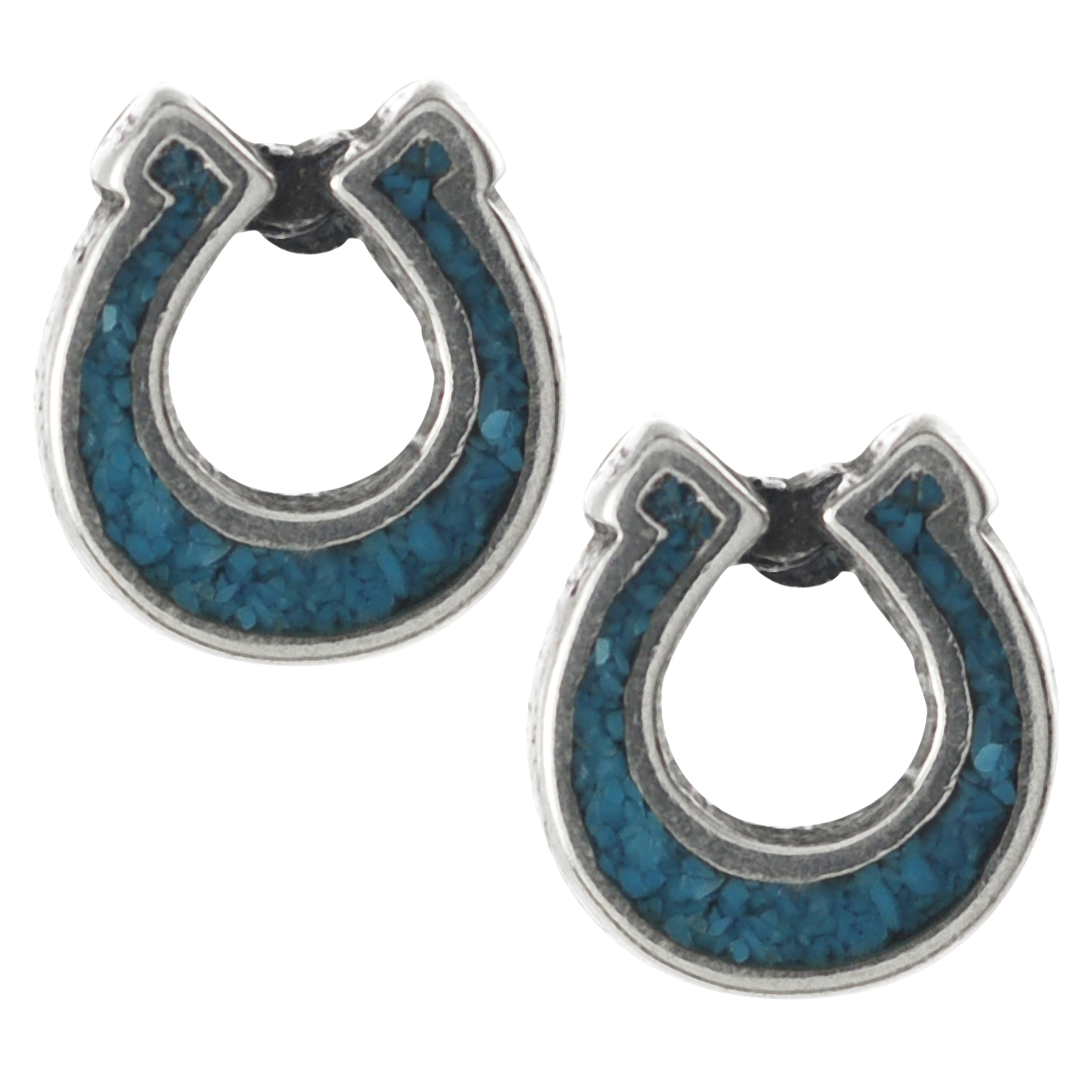Tressa-Sterling-Silver-Genuine-Turquoise-Horseshoe-Stud-Earrings-L14378210
